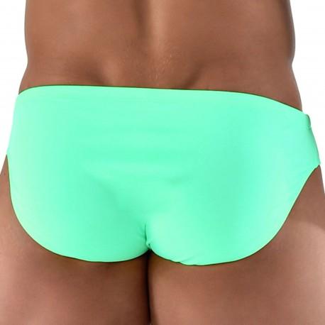 Roberto Lucca Slip de Bain Bikini Menthe
