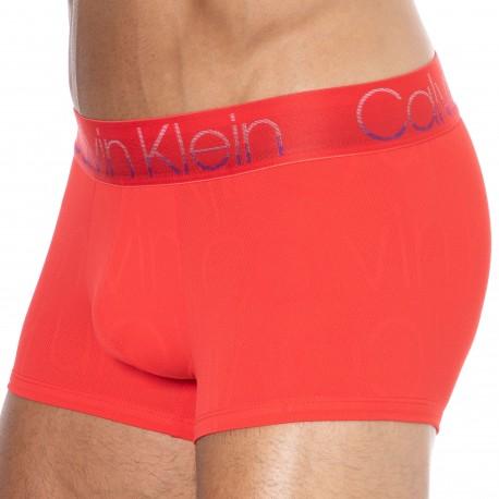 Calvin Klein Boxer Chill Logo Microfibre Rouge