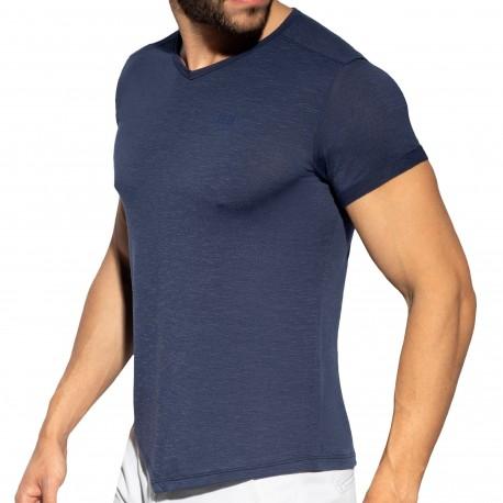 ES Collection T-Shirt Flame Bleu Marine