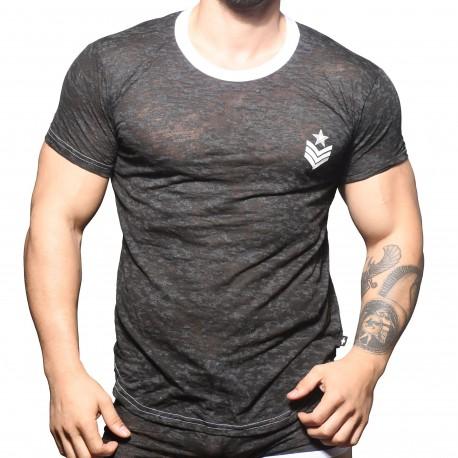 Andrew Christian Burnout Sergeant T-Shirt