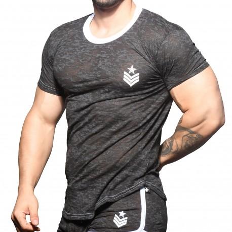 Andrew Christian T-Shirt Dévoré Sergent