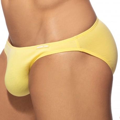 Addicted Slip Bikini Coton Jaune