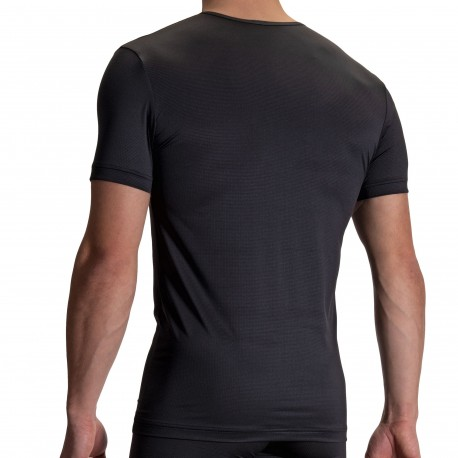 Olaf Benz T-Shirt Col Rond RED 2110 Noir