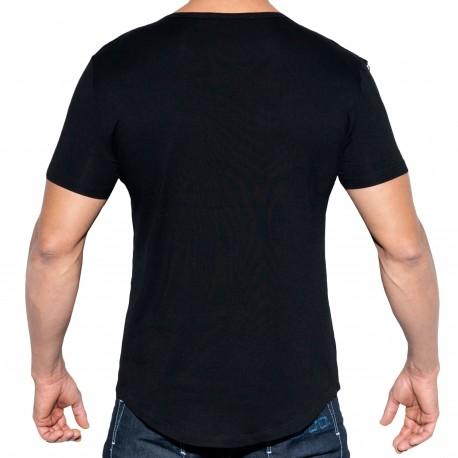 ES Collection T-Shirt Chains Shield Noir