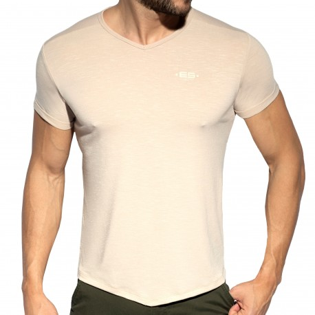 ES Collection T-Shirt Flame Beige