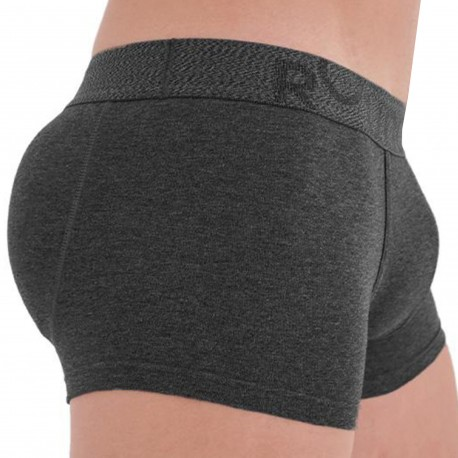 Rounderbum Padded Boxer - Charcoal