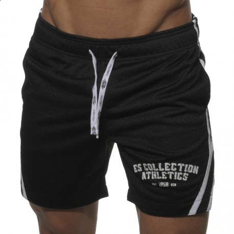 Bermuda Speed Mesh Basketball Noir
