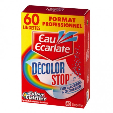 60 Decolor Stop Wipes - 60 wipes