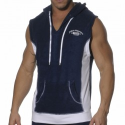 Débardeur Hoody Sports Eponge Marine ES Collection