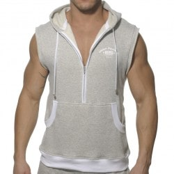 Débardeur Hoody Fleece Gris Clair ES Collection