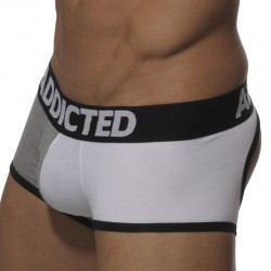 Boxer Empty Bottom Gris - Blanc Addicted