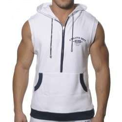 Débardeur Hoody Coton Blanc ES Collection