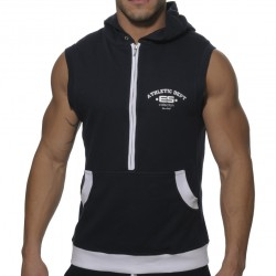 Débardeur Hoody Coton Marine ES Collection