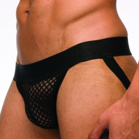 C-Through Jock Strap - Black