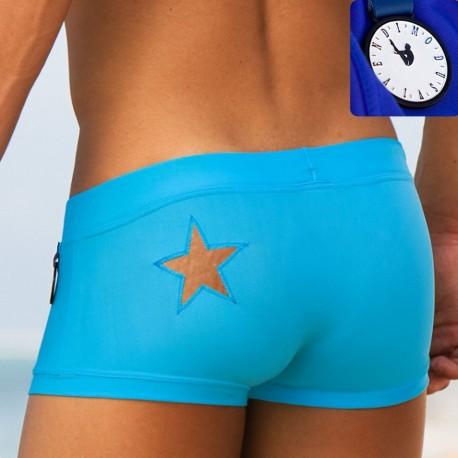 Boxer de Bain Tatoo Turquoise