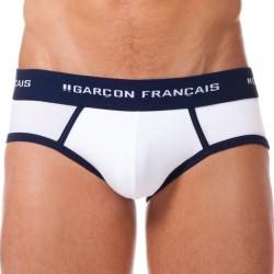 Slip Le Tombeur Blanc Garçon Français