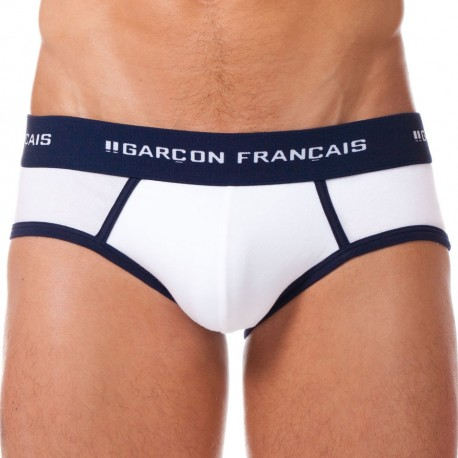 Le Tombeur Brief - White