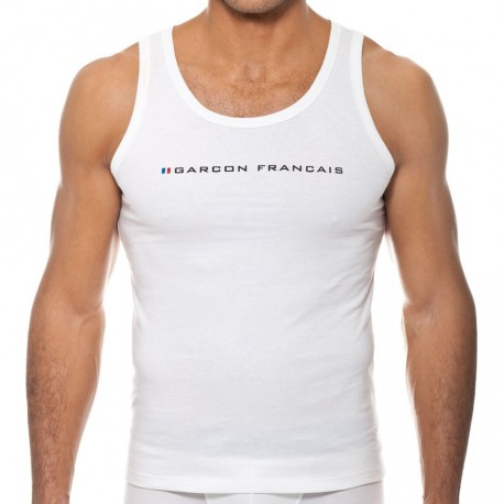 Le Tombeur Tank Top - White