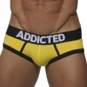 Briefs - 3-Pack - Navy - Yellow - Black