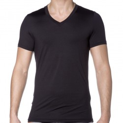 T-Shirt Black Addict Liquid Sensation Noir HOM