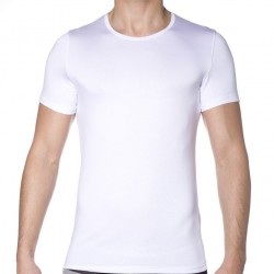 T-Shirt Soft Silk Blanc HOM