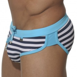 Slip de Bain Barcelona Marin - Turquoise ES Collection