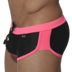 Shorty de Bain Marais Noir - Fuschia ES Collection