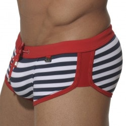 Shorty de Bain Marais Marin - Rouge ES Collection