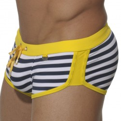 Shorty de Bain Marais Marin - Jaune ES Collection