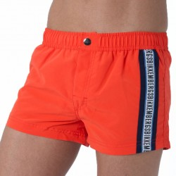 Short de Bain P210 Orange Bikkembergs