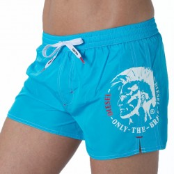 Short de Bain Only The Brave Turquoise Diesel