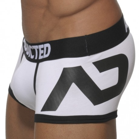 Boxer Disco Push Up Blanc