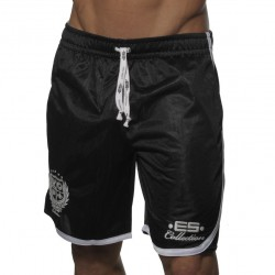 Bermuda Basket Ball Noir ES Collection