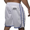 Basket Ball Bermuda Shorts - White