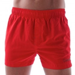 Short de Bain Core Solid Rouge Calvin Klein