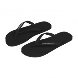 Tongs Slippers Basic Noires Emporio Armani