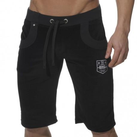 Velvet Sports Bermuda Shorts - Black