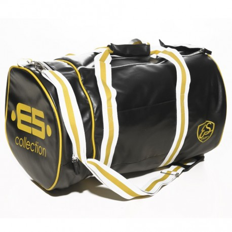 Sac de Sport Athletic Noir - Jaune