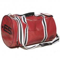 Sac de Sport Athletic Rouge - Noir ES Collection