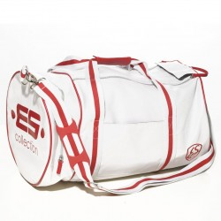 Sac de Sport Athletic Blanc - rouge ES Collection