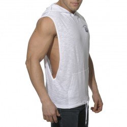 Débardeur Hoody Cotton Sport Blanc ES Collection