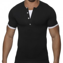 T-shirt Double Noir ES Collection