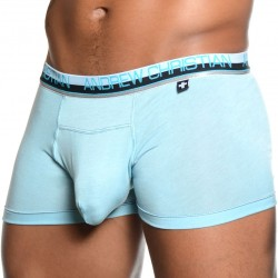 Boxer Almost Naked Smooth Vibe Bleu Ciel Andrew Christian