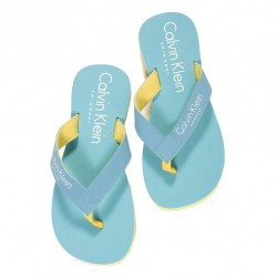Tongs CK One Turquoises Calvin Klein