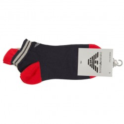 Chaussettes Casual Plain Cotton Marines Emporio Armani