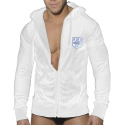 Veste Velvet Sport Blanche ES Collection