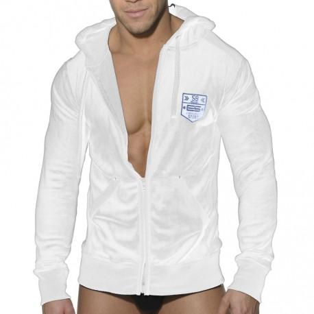 Velvet Sports Jacket - White