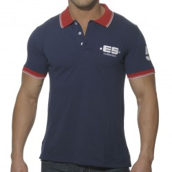 T-Shirt Polo Slim Fit Marine ES Collection