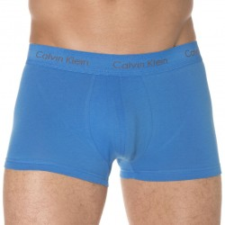 Lot de 3 Shortys Cotton Stretch Bleu - Gris - Violet Calvin Klein