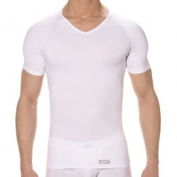 T-Shirt Body Tonic Blanc DIM